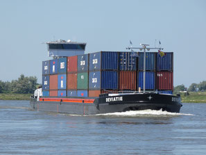 Containerschip Deviatie