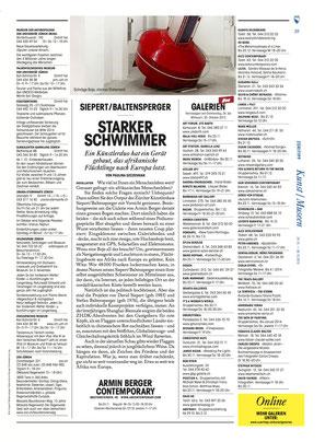 Züri Tipp über Baltensperger+Siepert