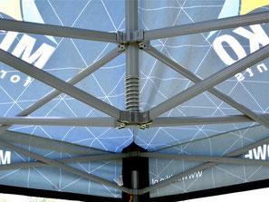 Bedruckte Pavillons