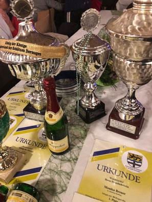 Siegerehrung Dr. Geldmacher Pokal Schießen 2019