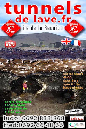 Briefing dans tunnels de lave