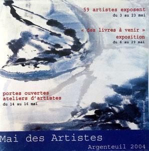"2004 - "" Mai des artistes "" Argenteuil - Roman Gorski"
