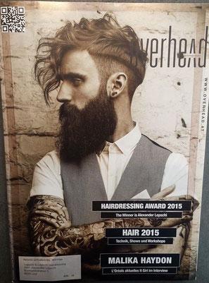 Cover - OVERHEAD (Mai 2015)