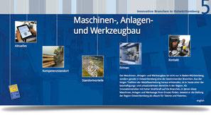 Innovative Branchen Ostwürttenmberg: Maschinen-, Anlagen- und Werkzeugbau