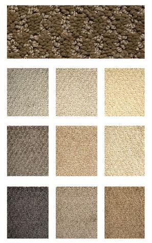 PIN DOT CUT AND LOOP carpet