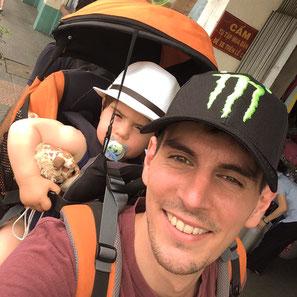 Selfie père/fils =)