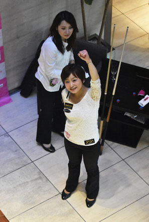 Miho Nakajima won JPBA Women's Pro Tour stop#1, Tokyo