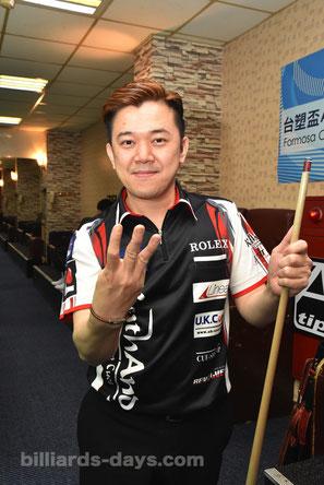 Lo Li-wen won 2017 Asian Pool Championship. 3 times in a row !
