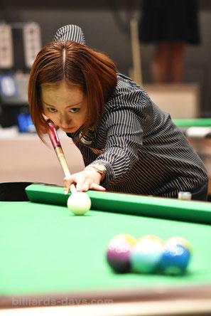 Miyuki Kuribayashi won 2016 Japan Open