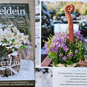Landhausidyll-Gartenkeramik in der Presse