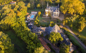 Le Château Belle Epoque et ses dépendances à Linxe 40