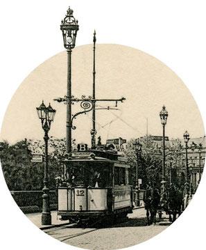 Lindnerwagen auf der Langen Brücke in Potsdam