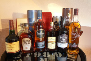 "Aktuelle Range ""Whisky International"""