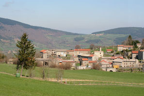 Village de Pompeyrin en Haute Loire