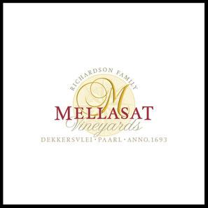 Weingut Mellasat aus Paarl, Südafrika ist berühmt für Weißen Pinotage. Pinotage, Shiraz, Cabernet.