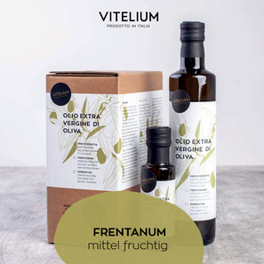 Vitelium Natives Olivenöl Extra, Frentanum, grünfruchtig, 3-L Bag-in-Box