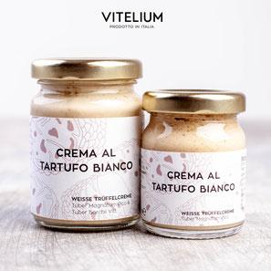 Vitelium Crema al Tartufo Bianco, weisses Trüffelpesto aus Italien, 50g