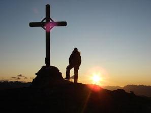Spettacolo dell'alba in Alto Adige