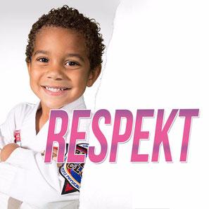 Werbebild Thema des Monats März für das Thema Respekt in der Fachsportschule