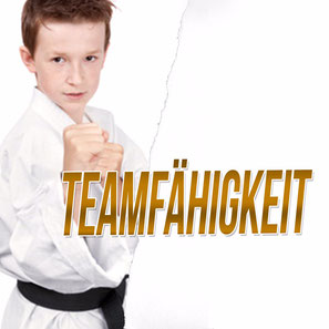 Werbebild Thema des Monats August für das Thema Teamfähigkeit in der Fachsportschule