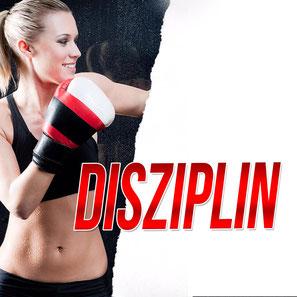 Werbebild Thema des Monats Februar für das Thema Disziplin in der Fachsportschule