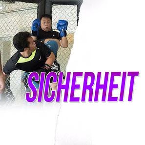 Werbebild Thema des Monats April für das Thema Sicherheit in der Fachsportschule