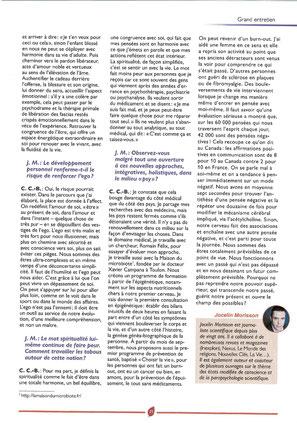 Interview Médecines Extraordinaire