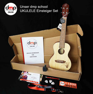 dmp school Ukulelen-Einsteiger Set