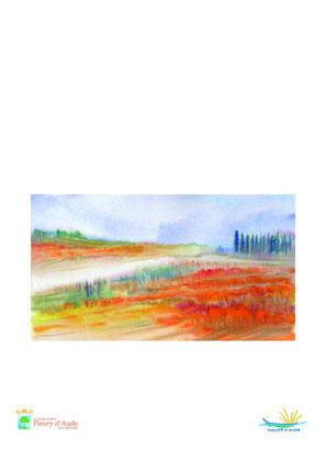 affocje exposition aquarelles vignes et pinèdes