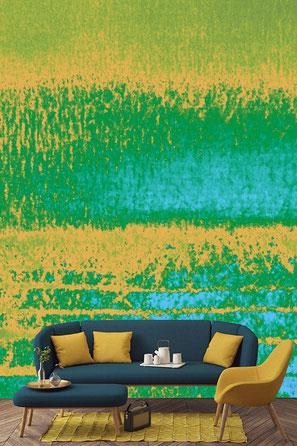 """""""Meereszauber"""" Wallpaper ©Breitenbach und Töchter, 2020"""