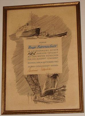 Zeichnung von Herrn Buchmann