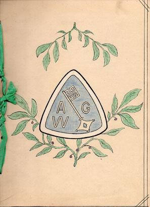 Handgefertigte Jubiläums-Urkunde aus der Werkzeugmacherei