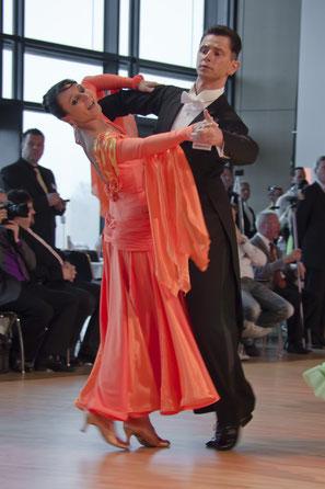 Deutsche Meisterschaft Standard SEN I S 2012 - Dresden - Silke & Kai