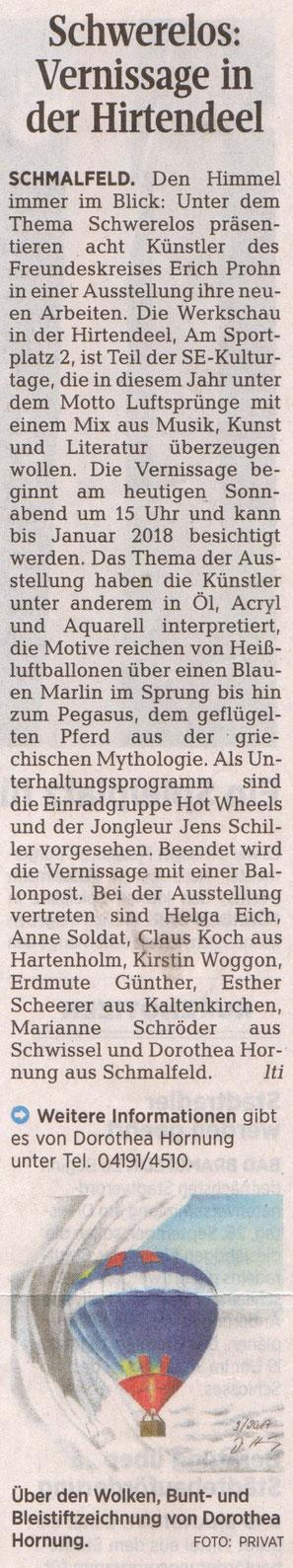 Segeberger Zeitung 16.09.2017
