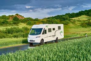 Integrierte Reisemobile von Forster