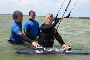 Unsere Angebote: Kitesurf-Kurse