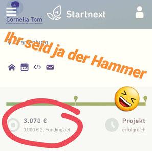 16.08.2018 Die Crowdfunding-Kampagne war erfolgreich. Dann kann es ja losgehen mit den Aufnahmen für die erste EP - PANGOLIN :)