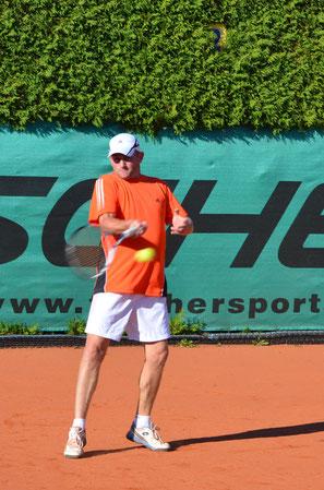Harald Schiffecker hoch konzentriert