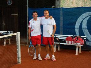 Christian Zeilberger und Christian Jodlbauer im 2er Doppel