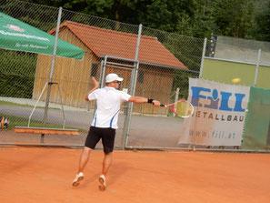 Christian Brunninger sehr akrobatisch