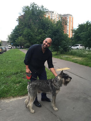 My friend Marinos & Harley, 10/06/2015, Moscow