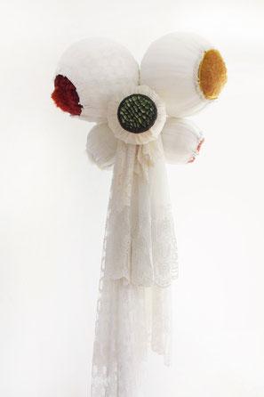 stranger, 2012, Object, 3 x 1 x 1m, curtain, fabrics