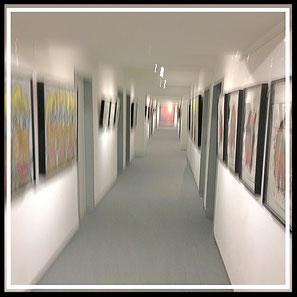 © YICO Galerie | Der Flur (Hangar)