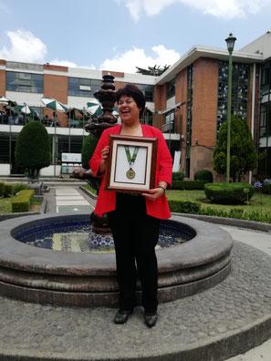 Mil felicidades a la Dra. Lucila por este grán logro.