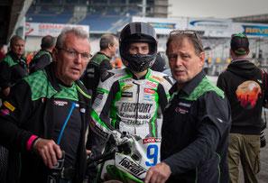 Marvin Siebdrath beim IDM Rennen am Hockenheimring 2021