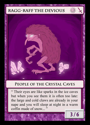 dungeon synth trading card