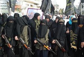 """Manifestation de femmes """"pacifique"""""""