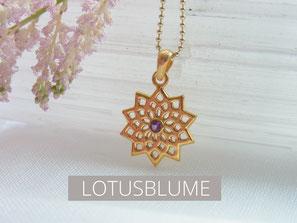 Lotusblume Schmuck