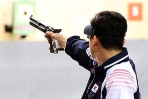 Le tir au pistolet demande maîtrise et concentration