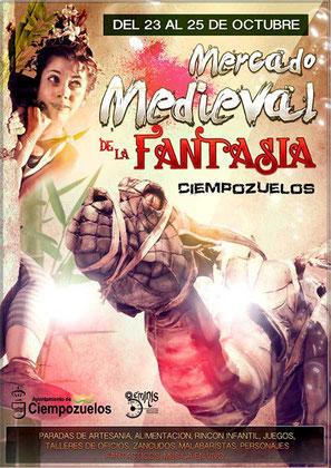 Mercado Medieval de la Fantasía en Ciempozuelos 2015